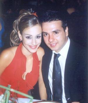 Tessy Cantú y Luis Herrera.