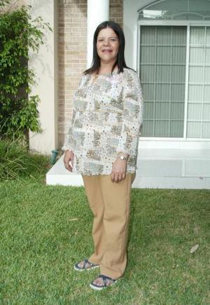 Diana Cortés de Uriarte captada en su fiesta de regalos