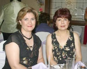 Martha Sánchez de Monárrez y María Carmen del Río.
