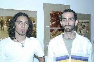 <u><b> 13 de Junio </u> </b><p>  Omar Godínez y German Cravioto.