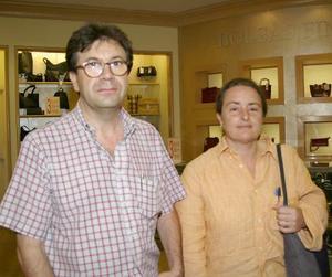 Ramón Peralta y Marta González.
