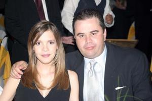 ALejandra de López y Alberto López Villegas.
