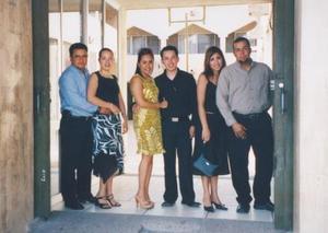 Emmerson Sotelo, Verónica de Sotelo, Jennifer de León, Héctor Sáenz, Mónica de Reyes y Eduardo Reyes