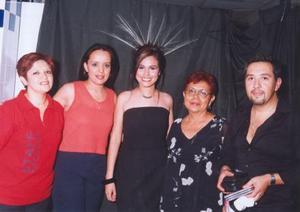 <u><b> 14 de Junio </u> </b><p>  Yolanda Lazcano, Érika Zapata Escalera, María del Carmen Zapata Chavarría y Fernando Suberza