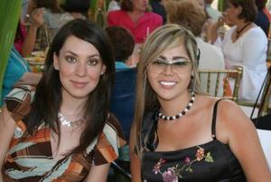 <u><b> 13 de Junio </u> </b><p>  Mónica González y Mari Carmen Mijares