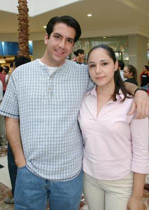 Omar López y Laurencia Villarreal