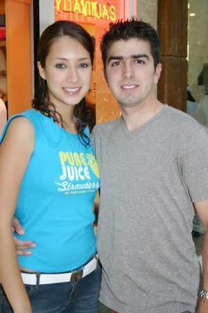Sara Escalante y Carlos Zavala.