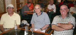José Sánchez Izquierdo, Fernando Murra MArcos y Alberto Humphrey Dugay.
