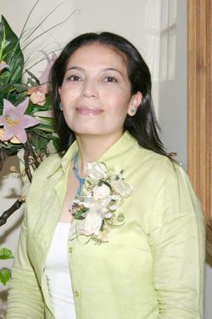 Coco Valdez Cabrera, en su despedida de soltera.