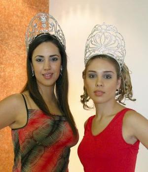 Gabriela y Faride terminan su ciclo como reina y princesa de la Feria Nacional de gómez Palacio Durango.
