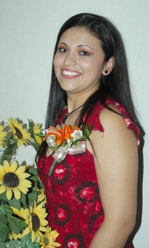 Jessica del Carmen Pérez García contraerá matrimonio con Alejandro de Lara Estrada, el próximo 26b de junio.