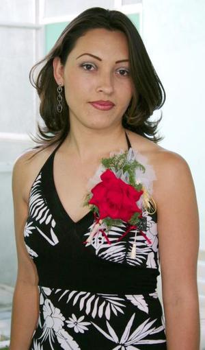 María Alicia Ruiz López disfrutó de una despedida de soltera en días pasados.