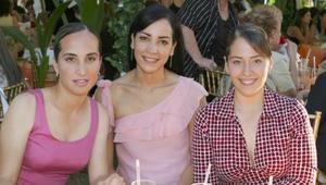 Angélica Ortiz, Ana Lucia Monárrez y Bárbara Colliere.