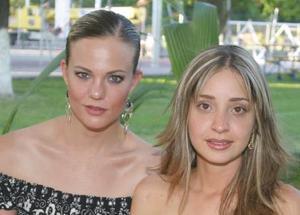 Astrid Wolff y Andrea Valencia.