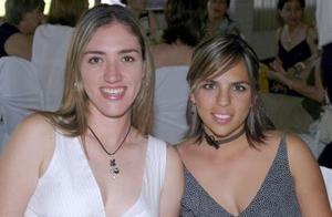 Marcela Garza y rina Gilio.