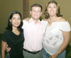 Griselda Anguiano, Ricardo Rodríguez e Idalia Pérez Mata