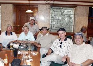 Rodolfo Castro, Felipe Tovar, Salvador, Fernanado Rentería, Luis Carlos Silva, Jorge LAnderos y Carlos Campa