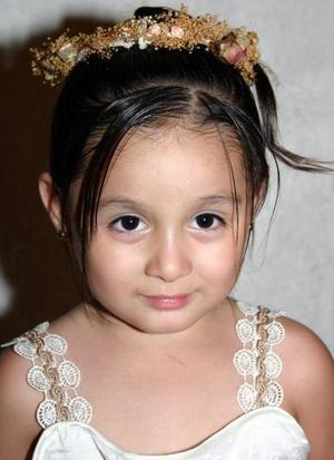 Pamela Vinney Tello Ortega festejó su cuarto cumpleaños, con un divertido convivio.