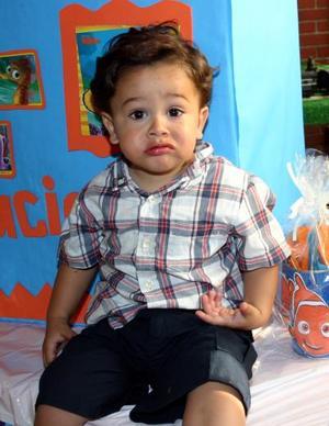 Luciano Acuña Gómez festejó su segundo cumpleaños de vida.