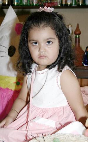 Nuyma Lucía Huereca González festejó su segundo cumpleaños con un convivio preparado por sus abuelitos, Bernardo Huereca y Rosa de Huereca.