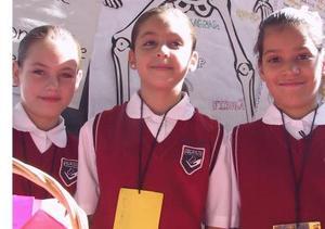 Aurora López, Romina Varela y Daniela García.