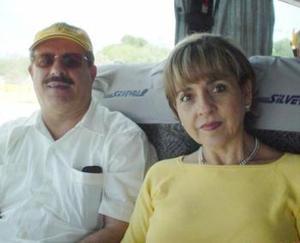 Salomón Juan Marcos y Rocío Villarreal de Juan Marcos.
