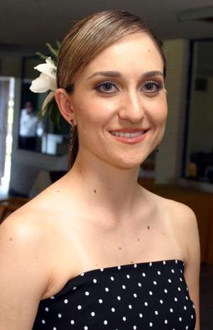Susana Castil Rossell, captada en una de sus despedidas de soltera con motivo de su próximo matrimonio.