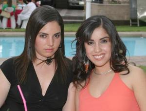 Estela Pompa y Any Marcos.