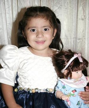 Laura Fernanda Velázquez Acosta celebró su tercer cumpleaños