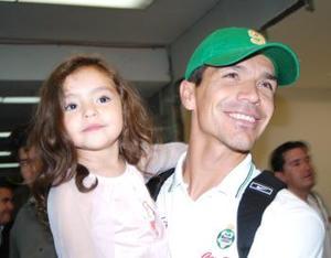 Jared con su hija Aixa Borgetti.