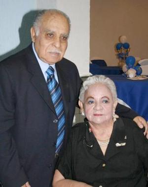 Juan Antonio Santacruz y Cecilia Polendo