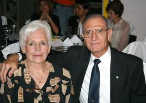 Ivonne de Montenegro y Manuel Montenegro.