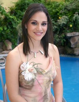Alejandra Orozco Diosdado contraerá matrimonio con Mario Garza Garza, el próximo 20 de agosto..