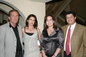 Aldo Díaz, Teresa Muñoz de Díaz, Mayosa Murra de Barboglio y Pedro Barboglio.