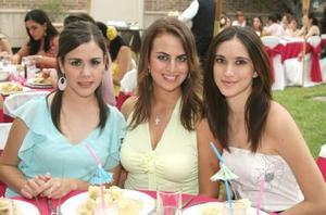 Ana Sofía González, Sofía Zarzar y Ale Maisterrena.