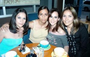 Brenda Aguilar, Edna Galván, Maribel Gutiérrez y Maribel Salazar.