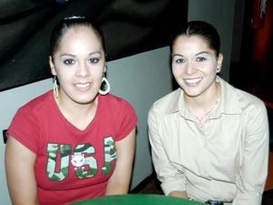 Denicce Martínez y Jinny Christiansen.