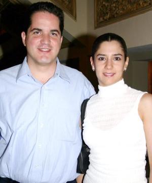 Lucía Ortega y Jesús Javier Campos.