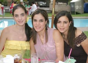 Any Díaz de León, Marcela Garza y Margarita Nahle.