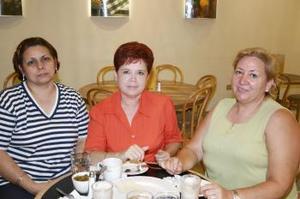 Imelda de Borjón, Elvira de Arredondo y Rita de González