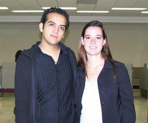 Mónica Abad y Ernesto Luna llegaron de León Guanajuato.