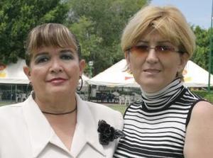 Maly Cerda y María Cruz Aguirre.