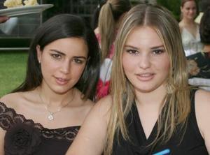 Regina Ortiz y Margarita Nahle.