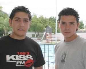 Rodrigo Medrano y Abraham Aguilar.