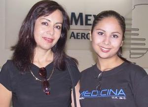 Ana Luisa Gómez y Claudia Carreón viajaron a San Diego, California.