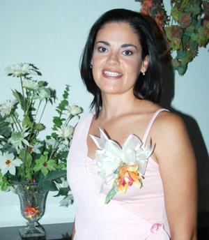 Cecilia Ortiz Saborit, captada en su despedida de soltera.