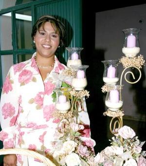 María Teresa Gutiérrez Encino fue despedida de su soltería, con un convivio con motivo se du próximo matrimonio.