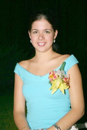 Mariana Sánchez García, captada en su despedida de soltera.