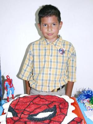 Alejandro García Arroyo, captado en su fiesta de cumpleaños.