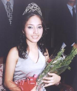 Saraí Verástegui Romero resultó electa princesa de los festejos.